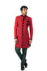 Red And Green Sherwani