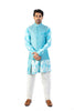 Blue Bandi With Kurta Set