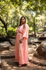 Peach Kaftan Gown
