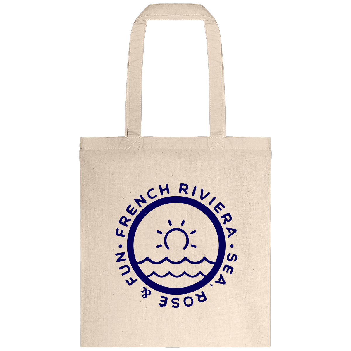 Tote bag, French Riviera