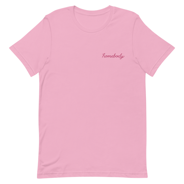 Homebody Embroidered Tee