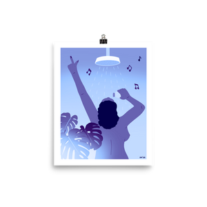 Dancin' in the Moonlight Poster Print