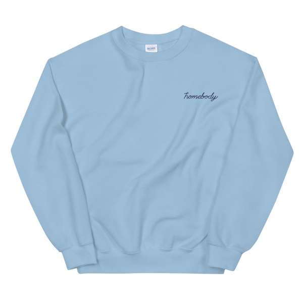 Homebody Embroidered Sweatshirt