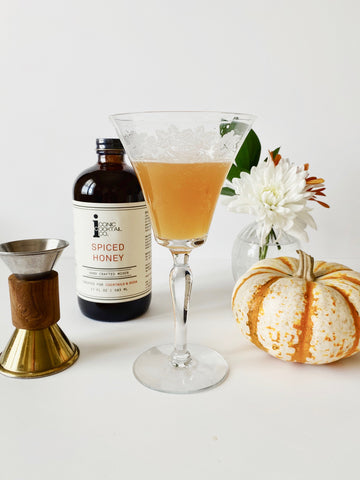 Honey Apple Brunch Cocktail
