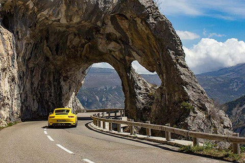 Route Gentelly Pass - French Alps