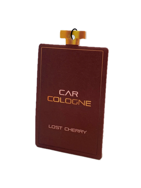 Card Air Freshener - Lost Cherry - Car Cologne