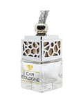 Silver Car Air Freshener/Diffuser - Car Cologne