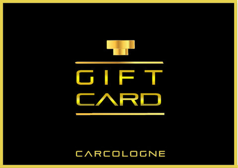 Gift Card - Car Cologne