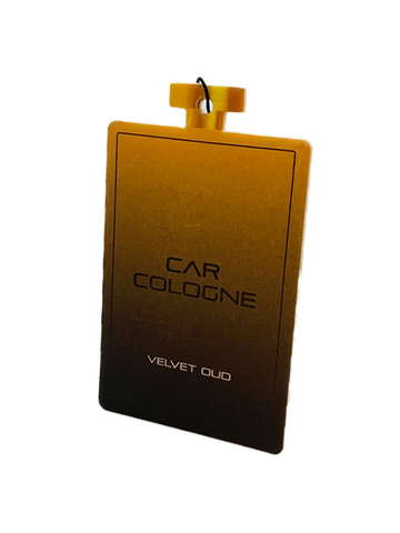 Card Air Freshener – Velvet Oud - Car Cologne