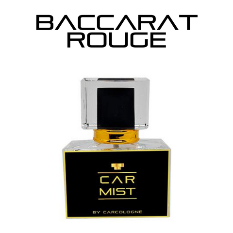 Baccarat Rouge Car Mist Spray