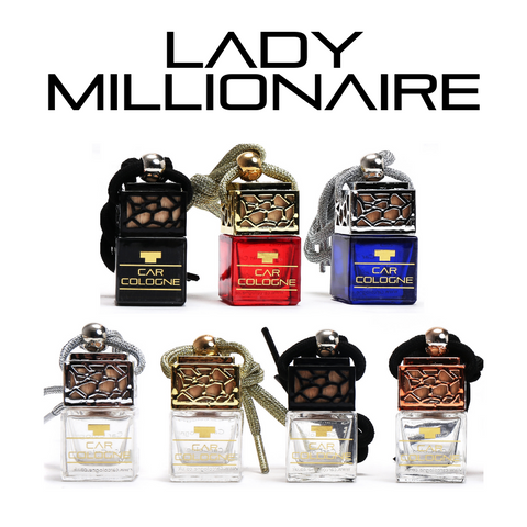 Lady Millionaire Car Perfume Diffuser