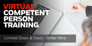 Virtual Remote Competent Person Training is On Demand and Instructor Led