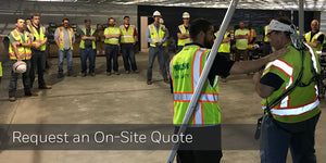 Request a quote to bring training to your location on your schedule