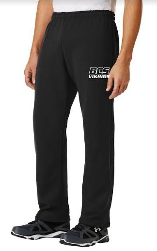 BCS OPEN BOTTOM SWEATPANTS