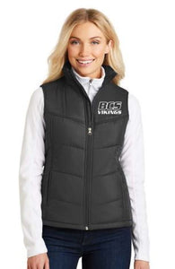 BCS LADIES PUFFY VEST