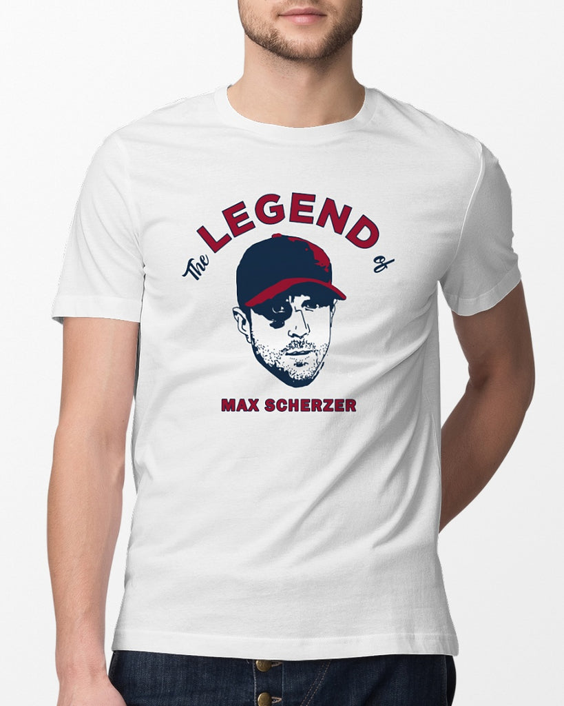 big sale 87b0b 489be the legend of max scherzer shirt