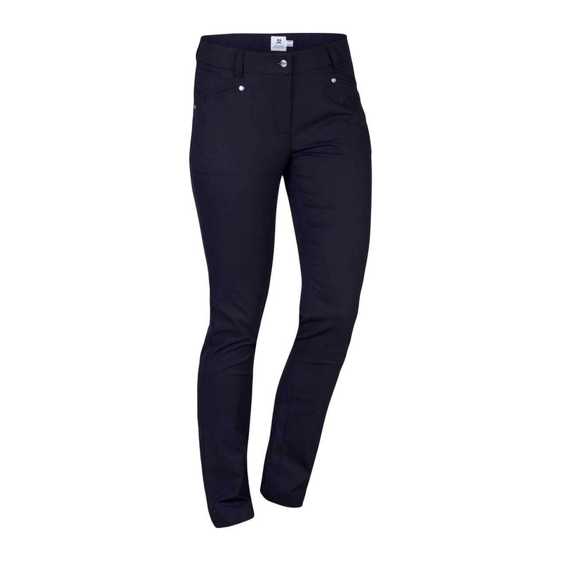 Daily Sports Basic Women's Solid Lyric Stretch Long Pants