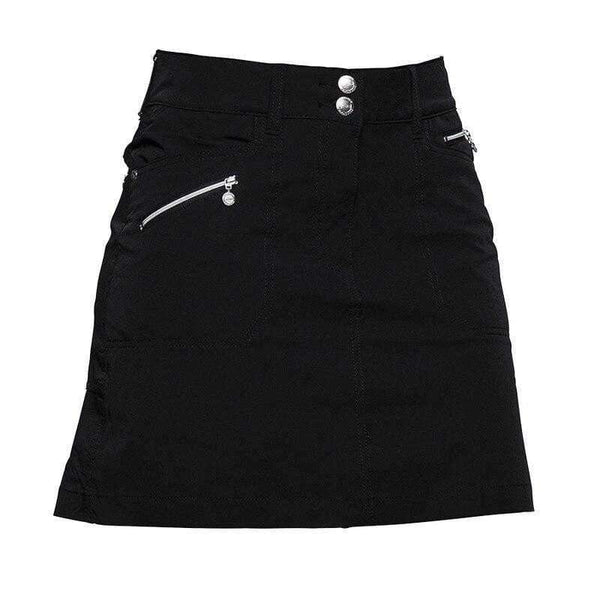 "Skort,Daily Sport,Daily Basic Women's Solid Miracle 18"" Stretch Golf Skort-Black,Navy,the-ladies-pro-shop-2,ladiesproshop,ladiesgolf,golfclothes,ladiesgolfclothes,cutegolfclothes,womensgolfclothes,ladiesgolfclothing,womensgolfclothing"