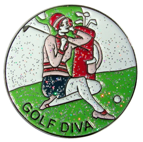 the-ladies-pro-shop-2,Navika Sparkly Ballmarker and Clip Set-Golf Diva,Navika,Ballmarkers