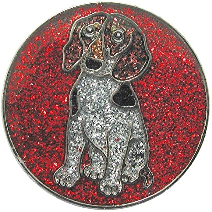 the-ladies-pro-shop-2,Navika Sparkly Ballmarker and Clip Set-Doggie,Navika,Ballmarkers