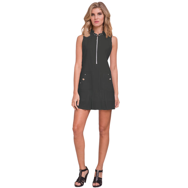 Jamie Sadock Airwear Women's Sleeveless Golf Dress- Black