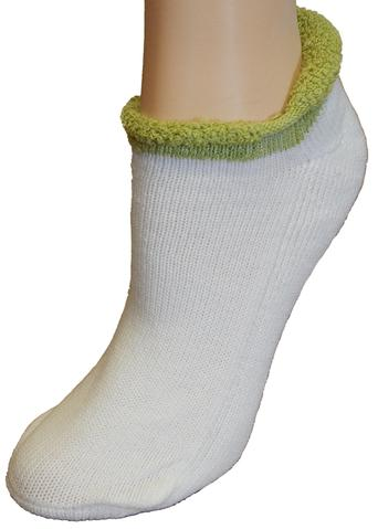 the-ladies-pro-shop-2,Ladies Roll Top Thick Socks-Assorted Colors,Cushees,Socks