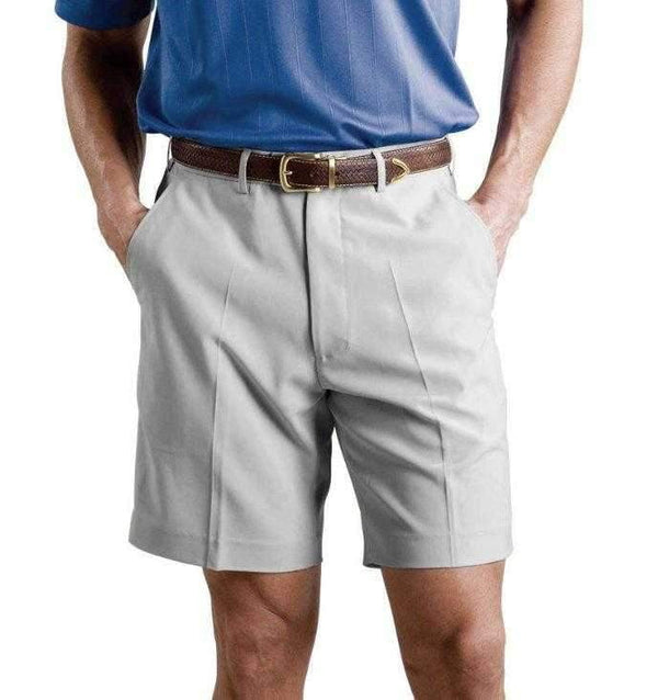 Shorts,Monterey Club,Monterey Club Men's Solid Lightweight Microfiber Flat Front Golf Shorts,the-ladies-pro-shop-2,ladiesproshop