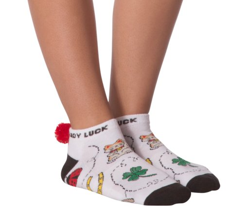 the-ladies-pro-shop-2,KBell Lady Luck Pom Pom Golf Socks,KBell,Socks