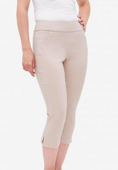 Pants,Tribal,Tribal Stretch Pull On Solid Capri Pant,the-ladies-pro-shop-2,ladiesproshop,ladiesgolf,golfclothes,ladiesgolfclothes,cutegolfclothes,womensgolfclothes,ladiesgolfclothing,womensgolfclothing