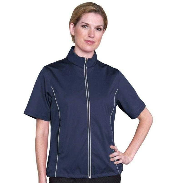 Jackets,Monterey Club,Monterey Club Water Repellent Short Sleeved Jackets-2 Colors,the-ladies-pro-shop-2,ladiesproshop,ladiesgolf,golfclothes,ladiesgolfclothes,cutegolfclothes,womensgolfclothes,ladiesgolfclothing,womensgolfclothing