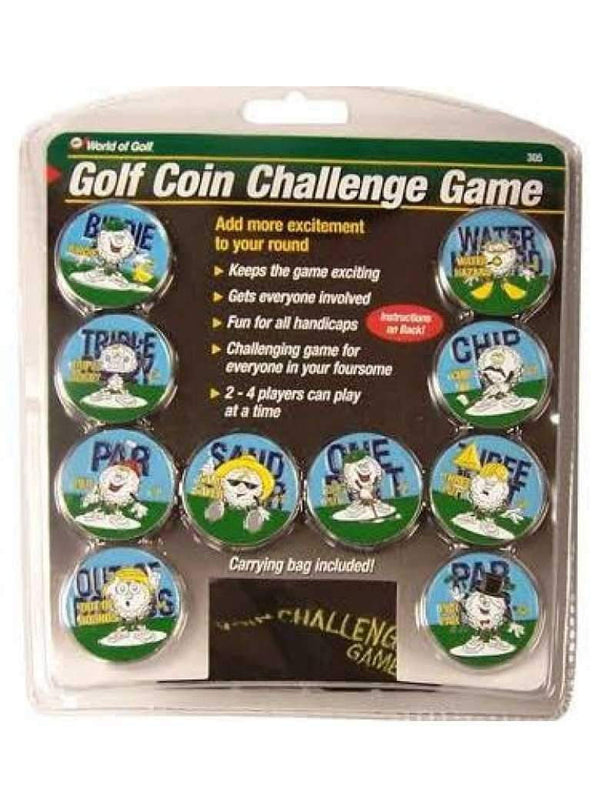 Golf Gifts Coin Challenge Game