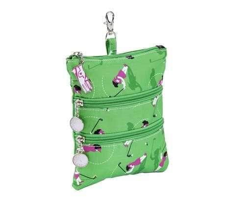 Purses,Sydney Love,Sydney Love Swing Time Clip on Accessory Pouch,the-ladies-pro-shop-2,ladiesproshop,ladiesgolf,golfclothes,ladiesgolfclothes,cutegolfclothes,womensgolfclothes,ladiesgolfclothing,womensgolfclothing