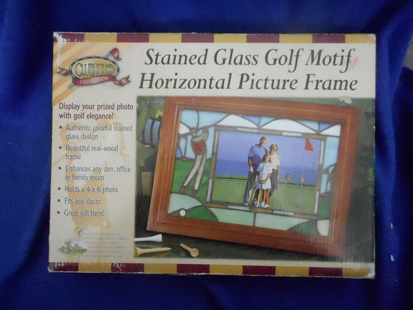 the-ladies-pro-shop-2,Golf Gifts Stained Glass Golf Motif Frame,Golf Gifts,Gift