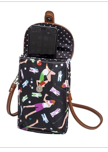 the-ladies-pro-shop-2,Sydney Love Lady Golfer Cell Phone Holder,Sydney Love,Purses