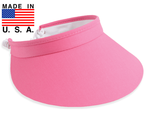 "Hats,Town Talk,Town Talk 4"" Coil Back Visor-Available in 18 Colors!!,the-ladies-pro-shop-2,ladiesproshop"