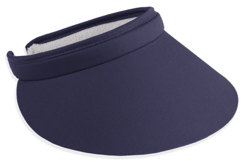 "Town Talk 4"" Brim Clip on Visor-Available in 10 Colors!"