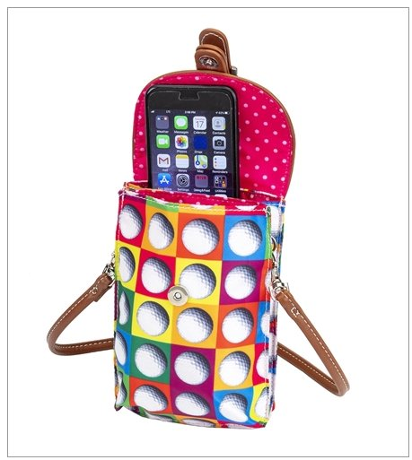 the-ladies-pro-shop-2,Sydney Love On the Ball Golf Cell Phone Holder,Sydney Love,Purses