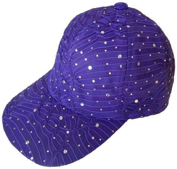Hats - Cushees - Cushees Sparkly Sun Cap - the-ladies-pro-shop-2