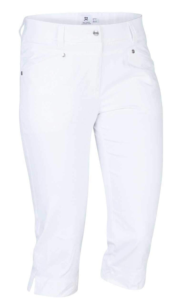 Daily Sport Basic Women's Solid Lyric Stretch Capri Pants - the-ladies-pro-shop-2