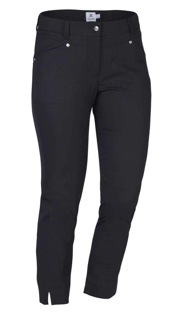 Daily Sports Basic Women's Solid Lyric Stretch High Water Pants | The Ladies Pro Shop