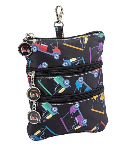 Sydney Love Cart Path Only Golf Clip on Accessory Pouch