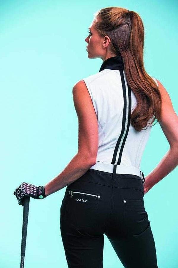 "Daily Sports Basic Women's Solid Miracle Stretch 32"" Golf Pants"