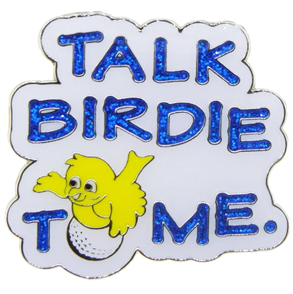 the-ladies-pro-shop-2,Navika Sparkly Ballmarker and Clip Set-Talk Birdie To Me,Navika,Ballmarkers