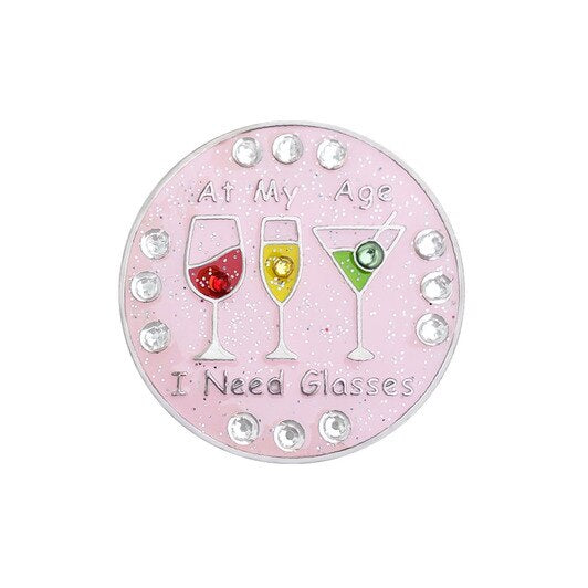 Navika At My Age Sparkly Ballmarker and clip set