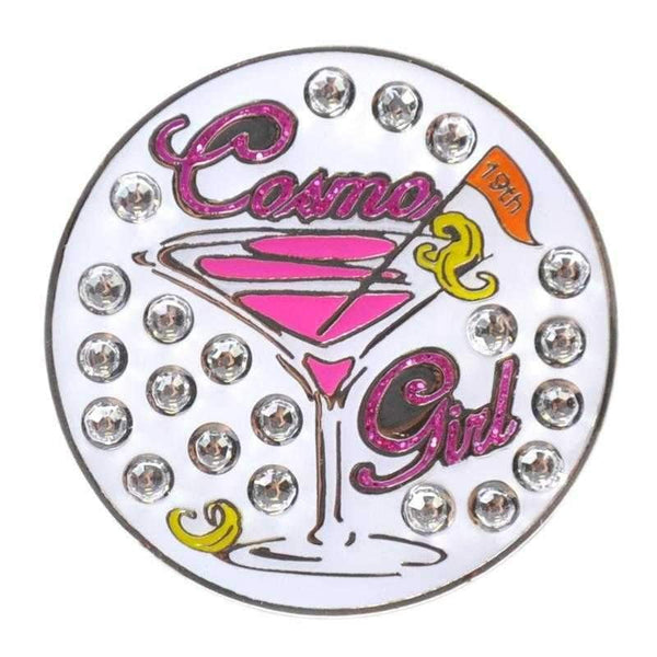 Navika Cosmo Girl Sparkly Ball Marker and Clip Set