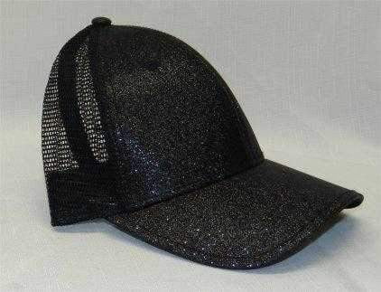 Hats,Dorfman Pacific,Dorfman Hat- Sparkly Mesh Baseball Cap- 3 Colors,the-ladies-pro-shop-2,ladiesproshop