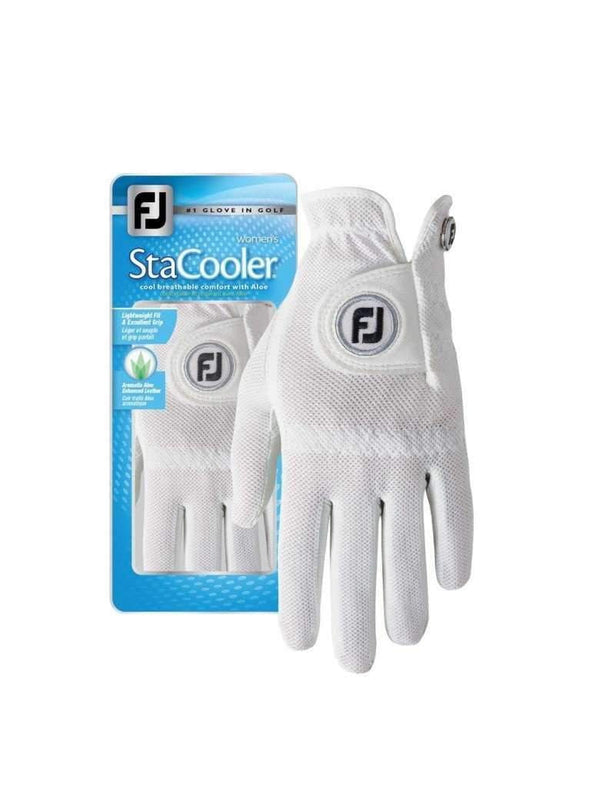 FJ Sta Cooler Golf Gloves - White | The Ladies Pro Shop