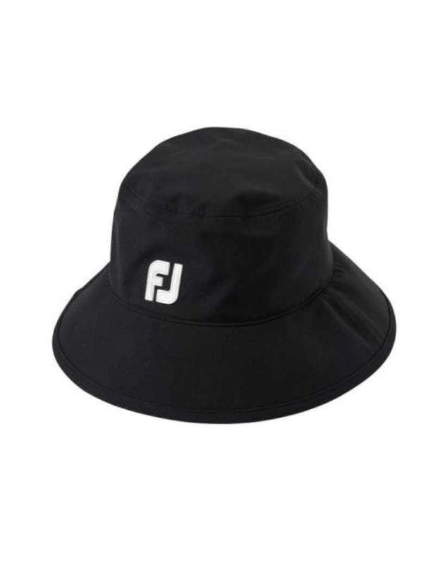 Hats,FootJoy,FJ Dry Joy Bucket Rain Hat-Black,the-ladies-pro-shop-2,ladiesproshop,ladiesgolf,golfclothes,ladiesgolfclothes,cutegolfclothes,womensgolfclothes,ladiesgolfclothing,womensgolfclothing