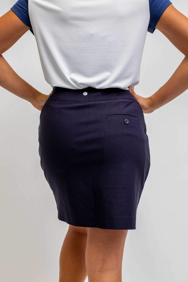 "Skort,EP Pro,EP Pro Basic Pull On 19"" Stretch Skort-Basic Colors,the-ladies-pro-shop-2,ladiesproshop,ladiesgolf,golfclothes,ladiesgolfclothes,cutegolfclothes,womensgolfclothes,ladiesgolfclothing,womensgolfclothing"