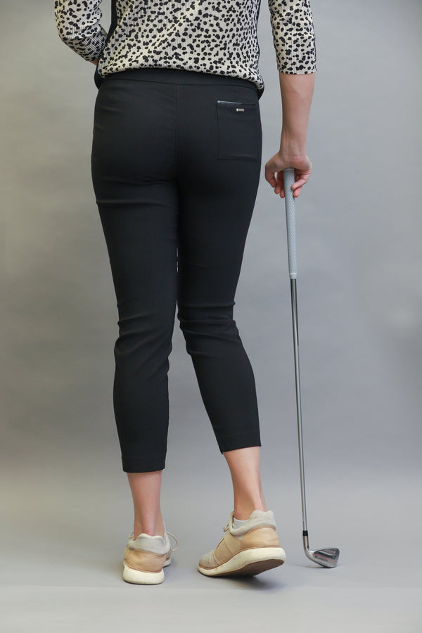"Pants,Jamie Sadock,Jamie Sadock Women's Skinnylicious 38.5"" Pull-on Ankle Pants - Black or Bisque,the-ladies-pro-shop-2,ladiesproshop,ladiesgolf,golfclothes,ladiesgolfclothes,cutegolfclothes,womensgolfclothes,ladiesgolfclothing,womensgolfclothing"